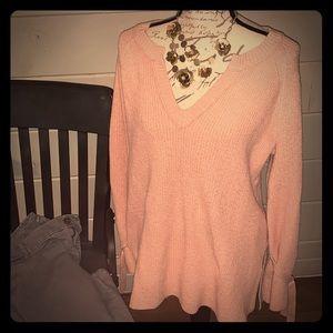 Pretty pink sweater